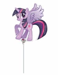 Mini palloncino alluminio pony viola My little pony™