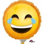 Mini palloncino emoticon che ride con le lacrime