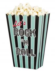 4 scatole pop corn Rock'n Roll