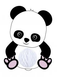 Sospensione in carta alveolata baby panda