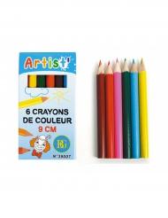 6 matite colorate per bambini