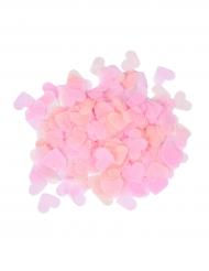 Coriandoli di carta cuori rosa