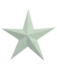 Lanterna a stella color menta 30 cm