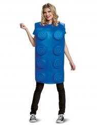 Travestimento da mattoncino LEGO™ blu per adulto