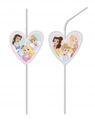 6 cannucce con cuore Principesse Disney™