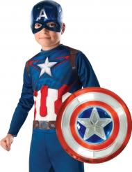 Kit maschera e scudo da Capitan America™ per bambino