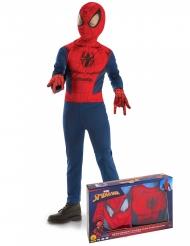 Cofanetto classico Spiderman™ con guanti per bambino