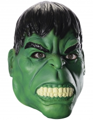 Maschera integrale Hulk™ in lattice per adulto