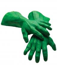 Guanti giganti in latex da Hulk™ per adulto