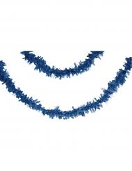 Ghirlanda di carta blu 7 m