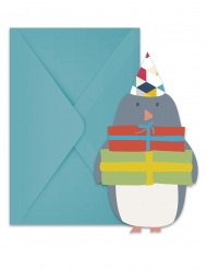 6 inviti di compleanno Artico