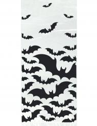 20 sacchetti in plastica pipistrelli neri