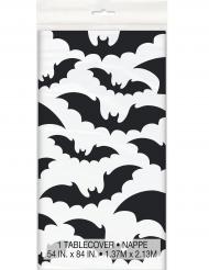 Tovaglia in plastica pipistrelli neri