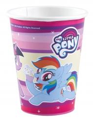 8 bicchieri in cartone My little pony™ 250 ml
