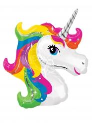 Mini palloncino testa di unicorno