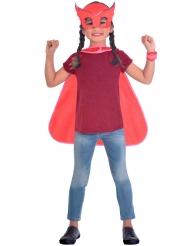 Kit maschera e mantello Gufetta Super Pigiamini™