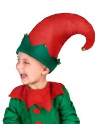 Cappello da elfo con campanellini per bambino