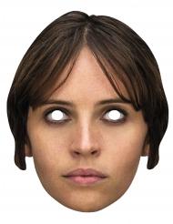 Maschera cartone Jyn Erso di Star Wars™