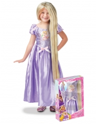 Cofanetto costume principessa Rapunzel™ con parrucca bambina