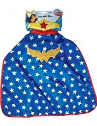 Mantello e corona Wonder Woman™ Super Hero Girls™ bambina