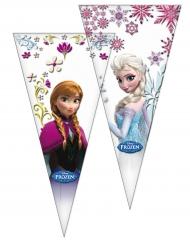 10 sacchetti regalo triangolari Frozen™
