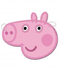 6 maschere in cartone Peppa Pig™