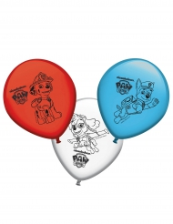 8 palloncini in lattice colorati Paw Patrol™
