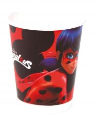 8 bicchieri in cartone Ladybug™