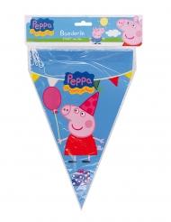 Ghirlanda con bandierine blu Peppa Pig™