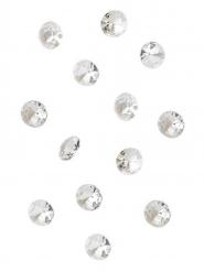 100 mini diamanti da tavola iridescenti