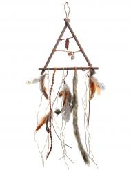 Acchiappa sogni in legno stile autunno