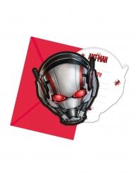 6 inviti di compleanno con buste Ant-Man™