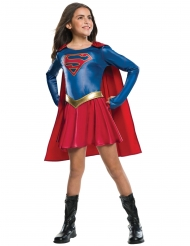 Travestimento da Supergirl™ lucido per bambina