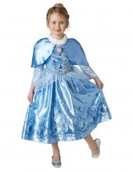 Travestimento da Cenerentola™ principessa dell'inverno con mantella per bambina