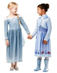 Travestimento Elsa Le avventure di Olaf™ per bambina