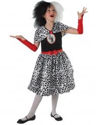 Costume da Crudelia™ per bambina