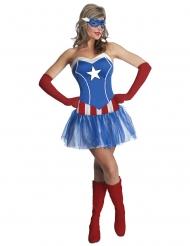 Costume con tutù Miss America™ per donna. Taglie disponibili 616312a7905