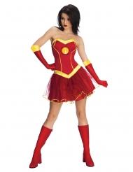 Costume con tutù Iron girl™ per donna. Taglie disponibili d867cb9f219