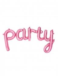 Palloncino in alluminio party rosa