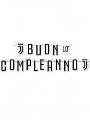 Ghirlanda Buon Compleanno Juventus™ personalizzabile