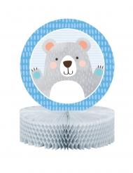 Centrotavola in carta alveolata piccolo orso