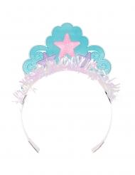 8 corone da principessa con sirena iridescente