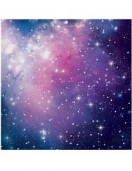 16 tovaglioli di carta galassia