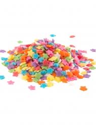 Coriandoli di zucchero stelle multicolor