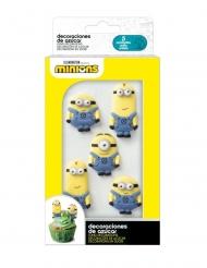 6 mini decorazioni di zucchero 2D Minions™