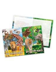8 inviti di compleanno safari