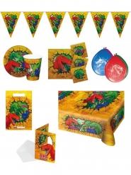 Kit decorazioni per compleanno dinosauri colorati