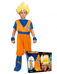Cofanetto costume Super Saiyan Goku Dragon Ball™ bambino