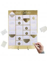 Calendario dell'Avvento personalizzabile con bustine