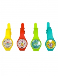 4 mini orologi giocattolo
